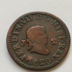 Monedas de España: 2 MARAVEDIS DE 1820. Lote 205825598