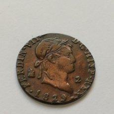 Monedas de España: 2 MARAVEDIS 1829. Lote 205826182