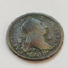 Monedas de España: 4 MARAVEDIS 1788. Lote 205846960
