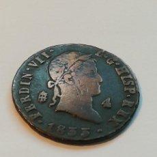 Monedas de España: 4 MARAVEDÍS DE 1833. Lote 205855123