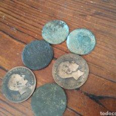 Monedas de España: LOTE DE MONEDAS DE ALFONSO XII Y MAS, L2. Lote 206301708