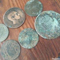 Monedas de España: LOTE DE MONEDAS DE ALFONSO XII Y MAS,L4. Lote 206301765