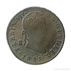 Monedas de España: FERNANDO VII 8 MARAVEDIS SEGOVIA 1825. Lote 206327502