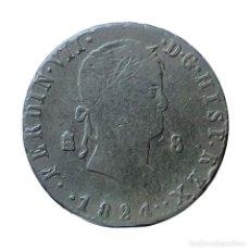 Monedas de España: FERNANDO VII 8 MARAVEDIS SEGOVIA 1824. DOS PUNTOS A LOS LADOS DE LA FECHA. Lote 206327646