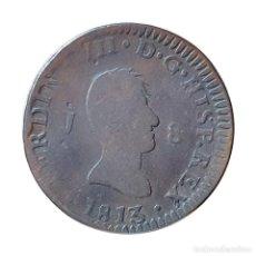 Monedas de España: FERNANDO VII 8 MARAVEDIS JUBIA 1813. Lote 206327765