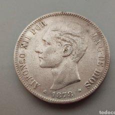 Monedas de España: MONEDA 5 PESETAS 1878 *18 78 DURO DE PLATA ESPAÑA ALFONSO XII. Lote 206338745