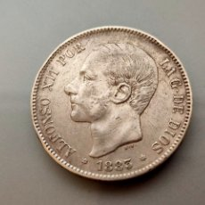 Monedas de España: MONEDA 5 PESETAS 1883 *18 83 DURO DE PLATA 900 ESPAÑA ALFONSO XII. Lote 206345418