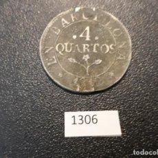 Monedas de España: ESPAÑA 4 CUARTOS 1812, JOSÉ BONAPARTE. Lote 206356743