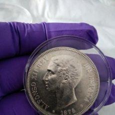 Monedas de España: 5 PESETAS 1876 *18-76 SC-. Lote 206779255