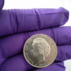 Monedas de España: 2 PESETAS 1894 *18-94 S/C ESPECTACULAR. Lote 206779778