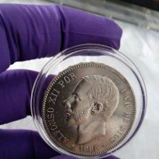 Monedas de España: 5 PESETAS 1885 *18-87 SC-. Lote 206786598