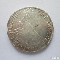 Monedas de España: CARLOS IV * 8 REALES 1807 MEXICO TH * PLATA. Lote 207039795