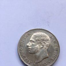 Monedas de España: 5 PESETAS ALFONSO XII 1885 *18 -*87 PLATA.. Lote 207397426