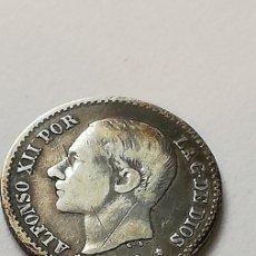 Monedas de España: 50 CÉNTIMOS 1880. Lote 207691991