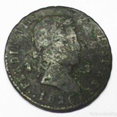 Monedas de España: FERNANDO VII, 1826. 8 MARAVEDÍS DE LA CECA DE SEGOVIA. LOTE 3030. Lote 207814663
