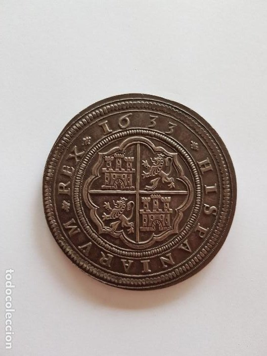 Monedas de España: ESPECTACULAR Cincuentin de Felipe IIII - Foto 2 - 207851865