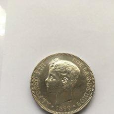 Monedas de España: 5 PESETAS ALFONSO XIII AÑO 1899 *18 -*99 S/C MENOS PLATA.. Lote 206446483