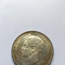 Monedas de España: 5 PESETAS ALFONSO XIII AÑO 1899 *18 -*99 S/C PLATA.. Lote 206450115