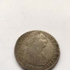 Monedas de España: 8 REALES CARLOS IV AÑO 1806 LIMA PLATA.. Lote 203064020