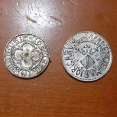 Monedas de España: REPRODUCCIÓN DE MONEDAS DE PLATA DE LA CORONA DE ARAGÓN SIGLO XVI - XVII. Lote 208313320