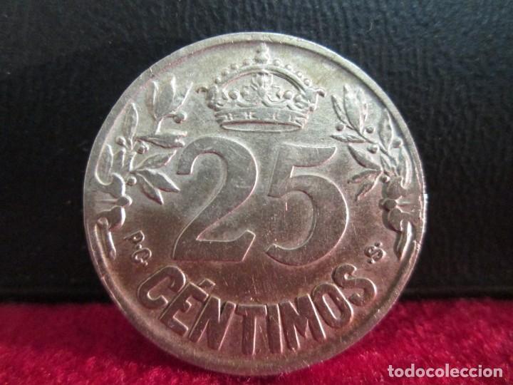 Monedas de España: 25 CENTIMOS 1925 ALFONSO XIII - Foto 2 - 208756733