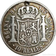 Monedas de España: ESPAÑA. 10 REALES DE 1851 (ISABEL II), CECA MADRID. (052).. Lote 208960057