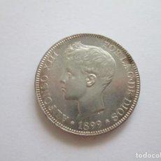 Monedas de España: ALFONSO XIII * 5 PESETAS 1899*99 SG V * SC * PLATA. Lote 209854446