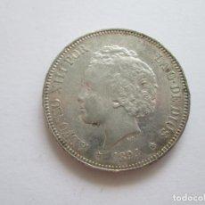 Monedas de España: ALFONSO XIII * 5 PESETAS 1894*94 PG V * PLATA. Lote 209857106