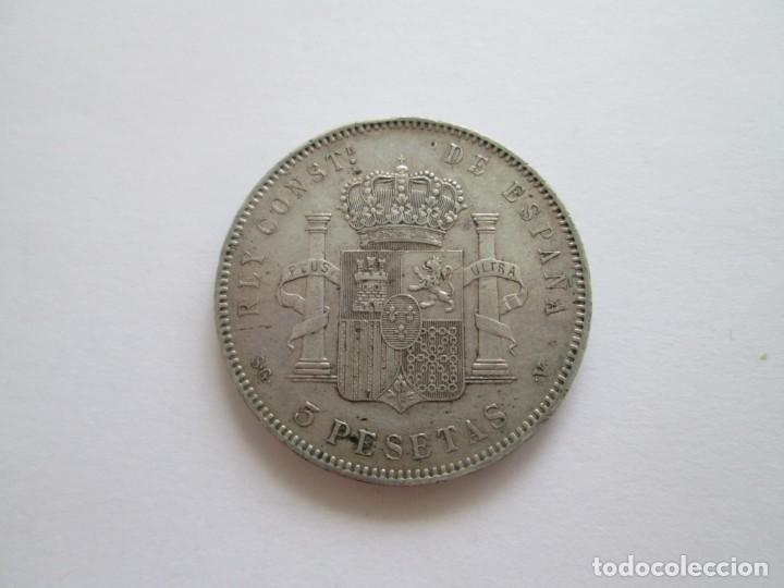 Monedas de España: ALFONSO XIII * 5 PESETAS 1897*97 SG V * PLATA - Foto 2 - 209857381