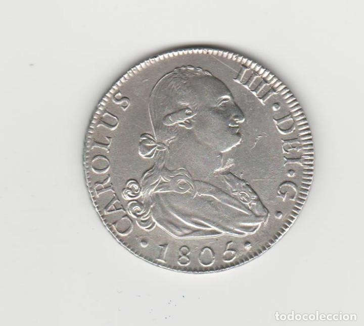 CARLOS IIII/IV- 8 REALES-1805-MADRID-FA-SC- (Numismática - España Modernas y Contemporáneas - De Reyes Católicos (1.474) a Fernando VII (1.833))