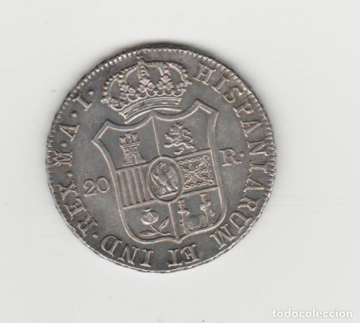 Monedas de España: JOSE NAPOLEON- 20 REALES- 1809-MADRID-AI-EBC+ - Foto 2 - 209968762