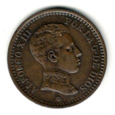 Monedas de España: ESPAÑA 2 CENTIMOS COBRE 1905 *05* - REY ALFONSO XIII - CECA DE MADRID. Lote 210394893
