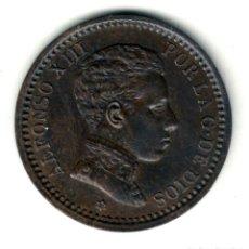 Monedas de España: ESPAÑA 2 CENTIMOS COBRE 1905 *05* - REY ALFONSO XIII - CECA DE MADRID. Lote 210395210