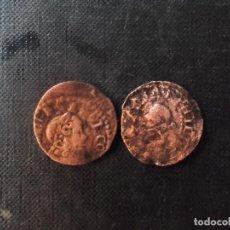 Monedas de España: 2 MONEDAS SEISENOS 1640 VER FOTOS. Lote 210709572