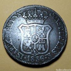 Monedas de España: ISABEL II * 1836 * 6 CUARTO, CATALUÑA. Lote 210744912