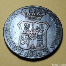 """Monedas de España: ISABEL II """" 1841 * 6 CUARTO, CATALUÑA. Lote 210745534"""