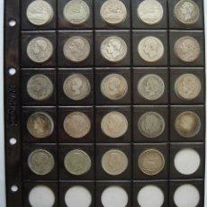 Monedas de España: PESETA DE PLATA 1869-1933. *COLECCIÓN COMPLETA* (LAS 24 MONEDAS DE BC+ A EBC) ...VER FOTOS.!!. Lote 210753291
