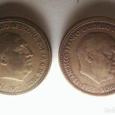 Monedas de España: 2,5 PESETAS ESTRELLAS PERFECTAS 1953 *19*54 O *19*56 A ELEGIR ESTADO ESPAÑOL. FRANCO. Lote 210798837