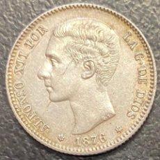 Monedas de España: ESPAÑA, MONEDA DE 1 PESETA DE ALFONSO XII. Lote 211268366