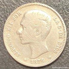 Monedas de España: ESPAÑA, MONEDA DE 1 PESETA DE ALFONSO XII. Lote 211268610