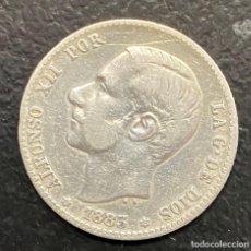 Monedas de España: ESPAÑA, MONEDA DE 1 PESETA DE ALFONSO XII. Lote 211269692