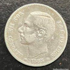 Monedas de España: ESPAÑA, MONEDA DE 1 PESETA DE ALFONSO XII. Lote 211269879