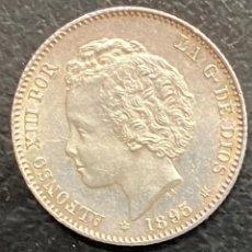 Monedas de España: ESPAÑA, MONEDA DE 1 PESETA DE ALFONSO XII. Lote 211270171