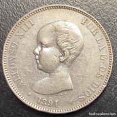 Monedas de España: ESPAÑA, MONEDA DE 5 PESETAS DE ALFONSO XIII. Lote 211271587
