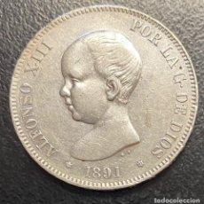 Monedas de España: ESPAÑA, MONEDA DE 5 PESETAS DE ALFONSO XIII. Lote 211271839