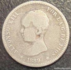 Monedas de España: ESPAÑA, MONEDA DE 1 PESETA DE ALFONSO XIII. Lote 211272340