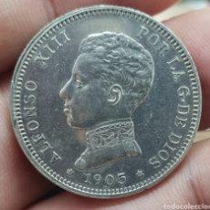 Monedas de España: 2 PESETAS 1905*19*05 ALFONSO XIII. Lote 211274961