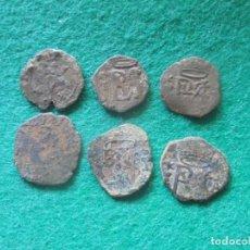 Monedas de España: LOTE DE 6 BLANCAS DE FELIPE II. Lote 211396264