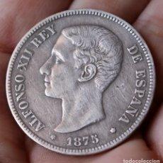 Monedas de España: ALFONSO XII . 5 PESETAS 1875. Lote 211404677