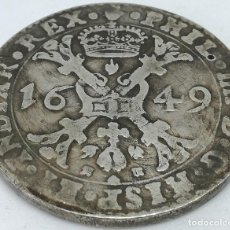 Moedas de Espanha: RÉPLICA MONEDA 1649. 1 PATAGÓN. ESPAÑA. REY FELIPE IV, PAÍSES BAJOS, FLANDES. Lote 211507191